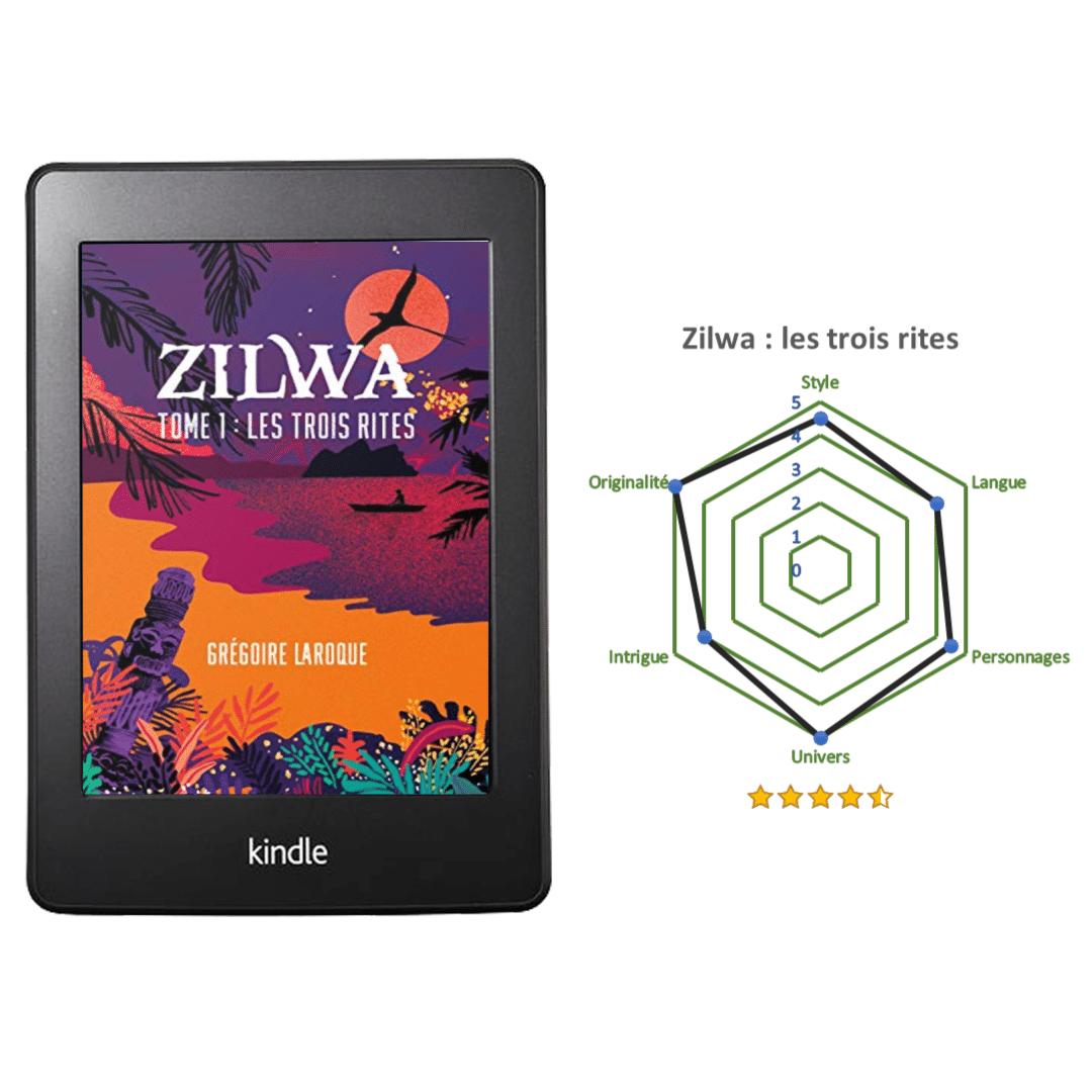 critique roman fantasy zilwa gregoire laroque