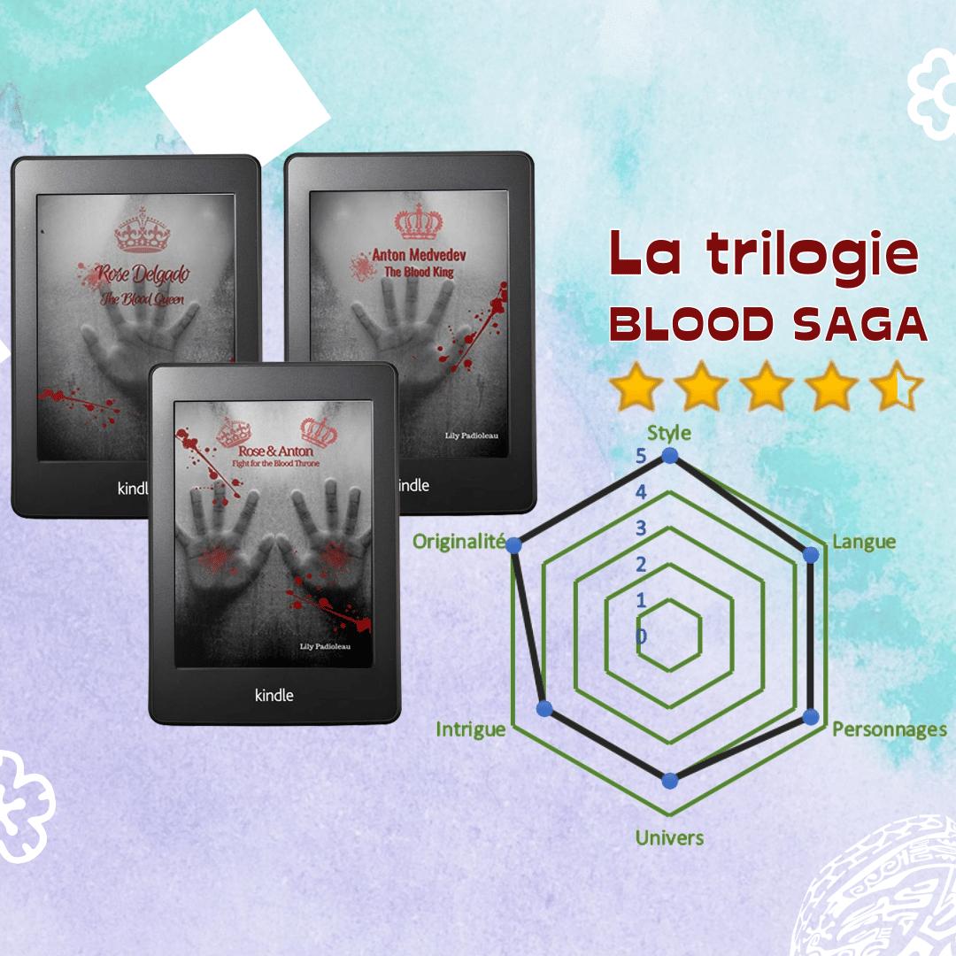 chronique livre blood saga lili padioleau gore horreur